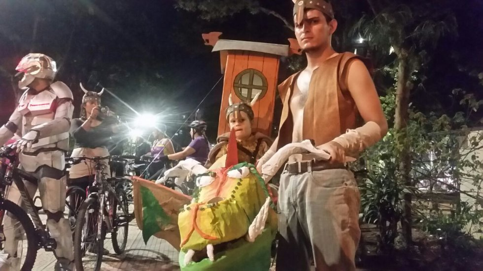 disfraces de halloween bucaramanga