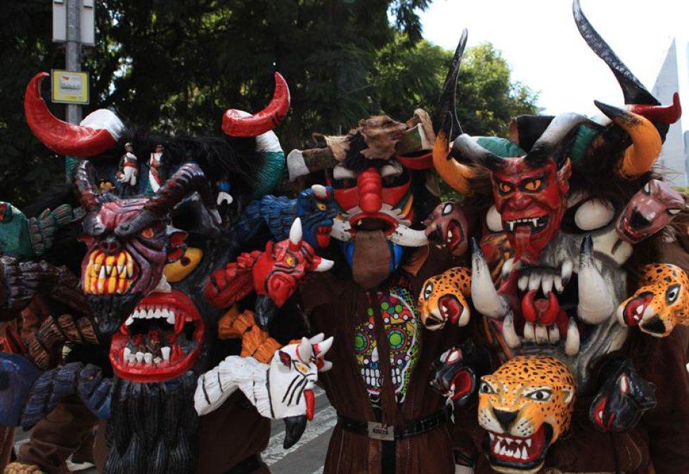 El Día de los Muertos es una celebración anual, desde hace 17 años, en el cementerio Hollywood Forever.