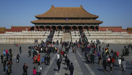 [Fotos] Recorriendo La Ciudad Prohibida en China