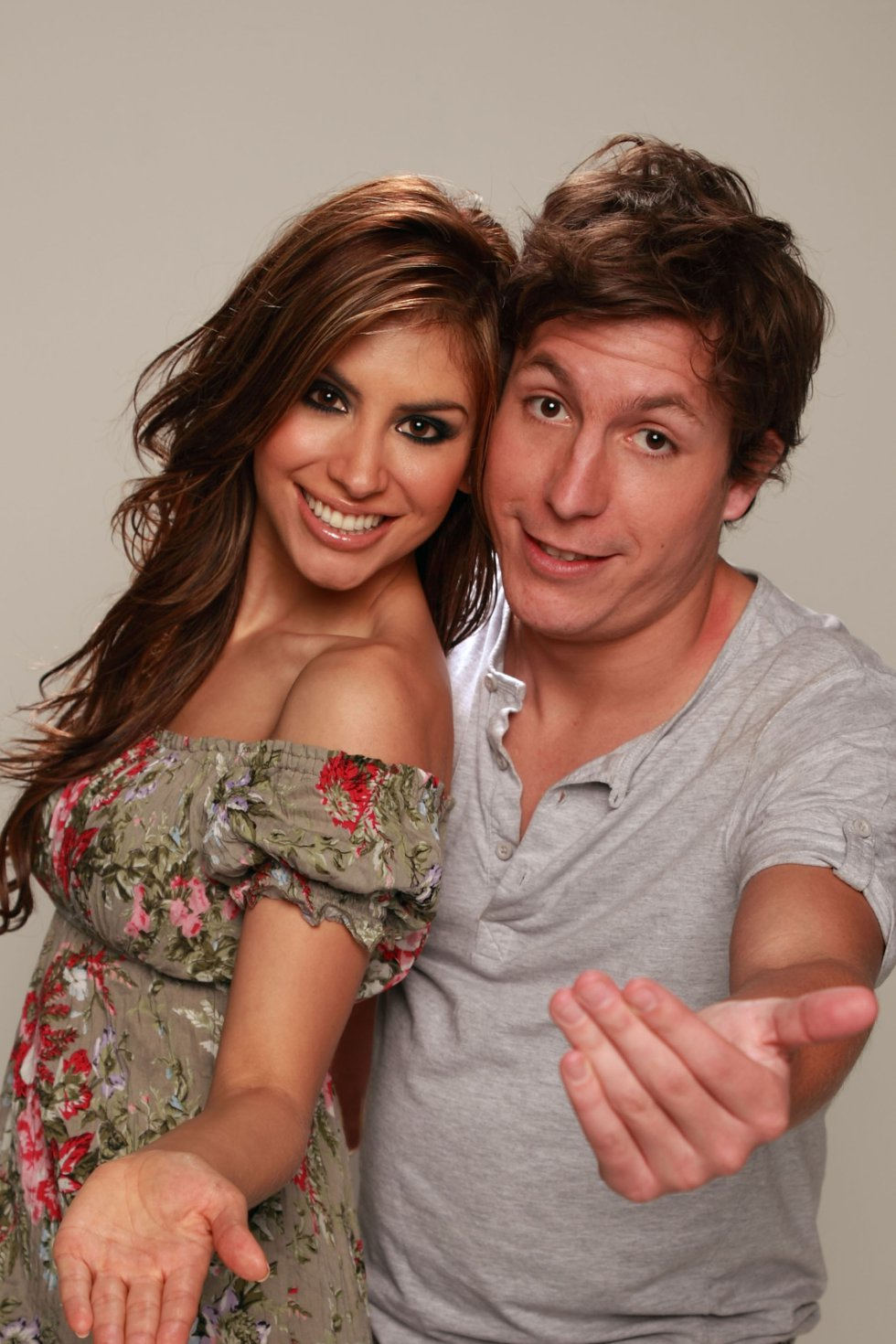 """En este programa duró cuatro años y luego cambió de programa en el mismo canal para presentar """"Nuestra semana, nuestra tele"""" junto al comediante Alejandro Riaño."""
