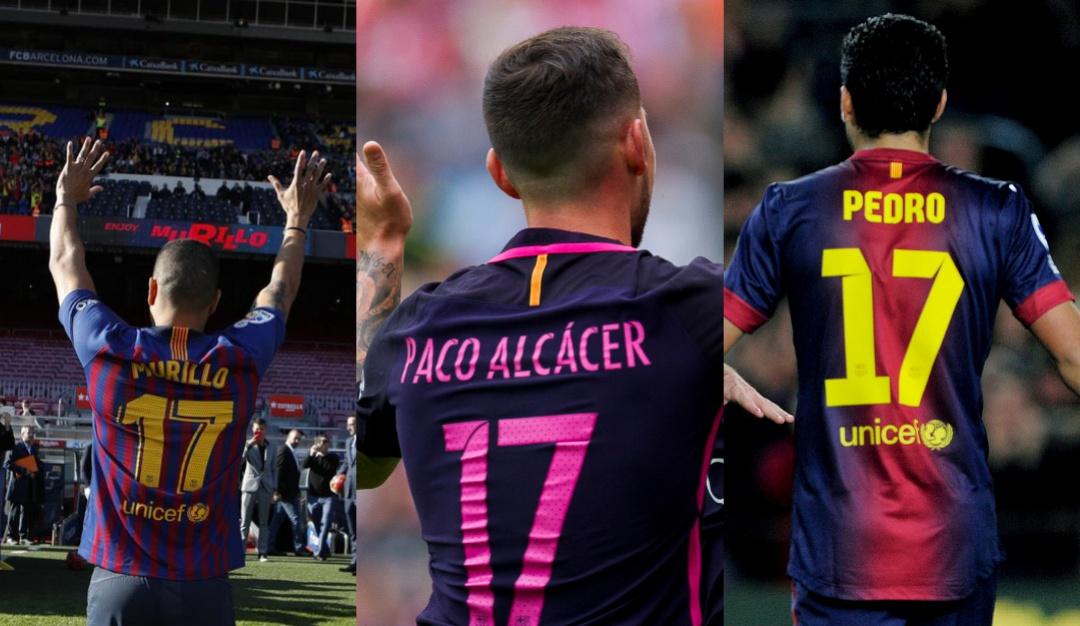 de028c2cd6 Jeison Murillo Barcelona  Murillo será el jugador número 13 del Barcelona  en llevar el dorsal