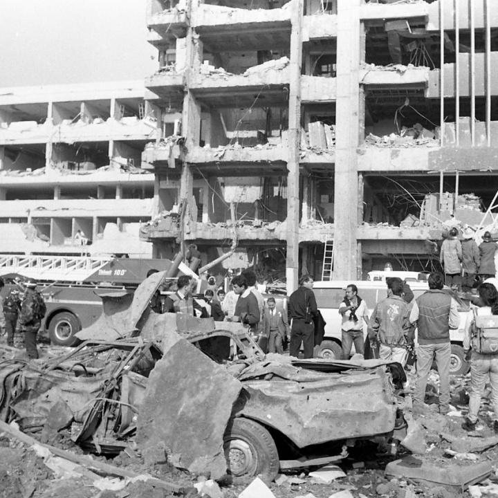 La bomba al DAS en 1989