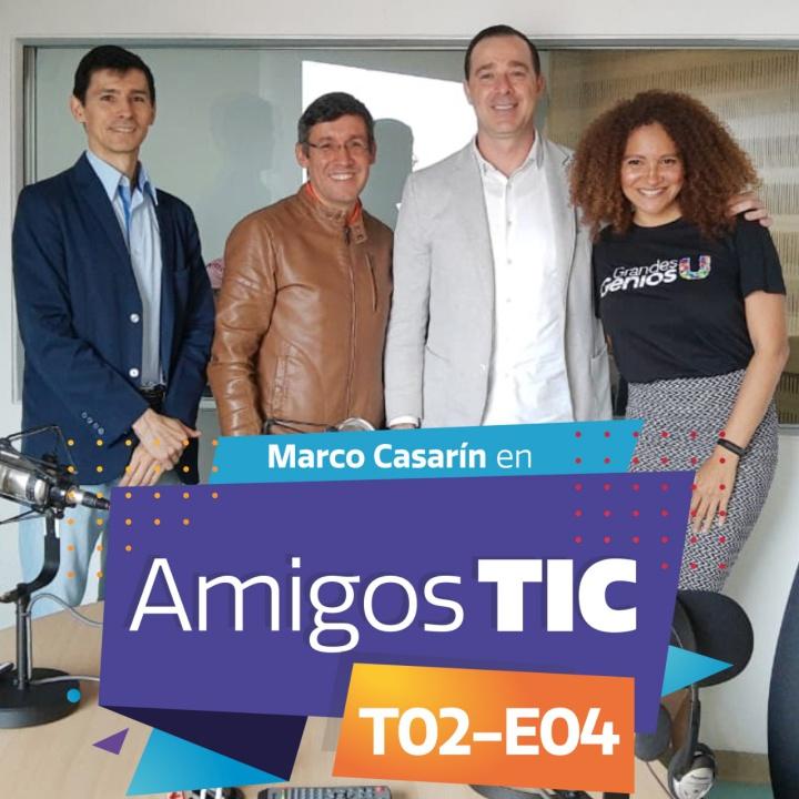 Marco Casarín y Microsoft Colombia