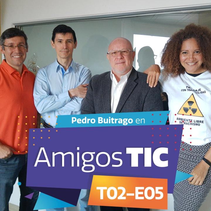 Pedro Buitrago y la banca móvil