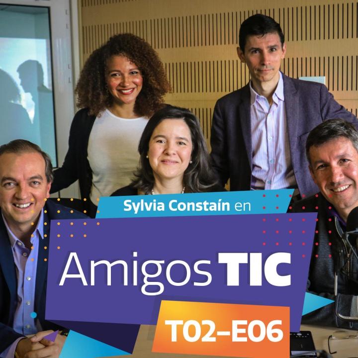 Sylvia Constaín y el Ministerio TIC