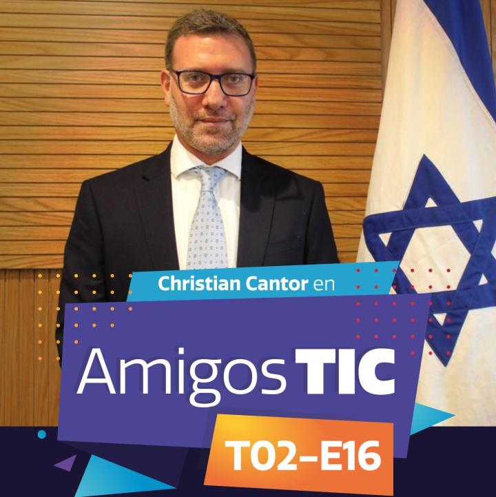 Christian Cantor y la Embajada de Israel