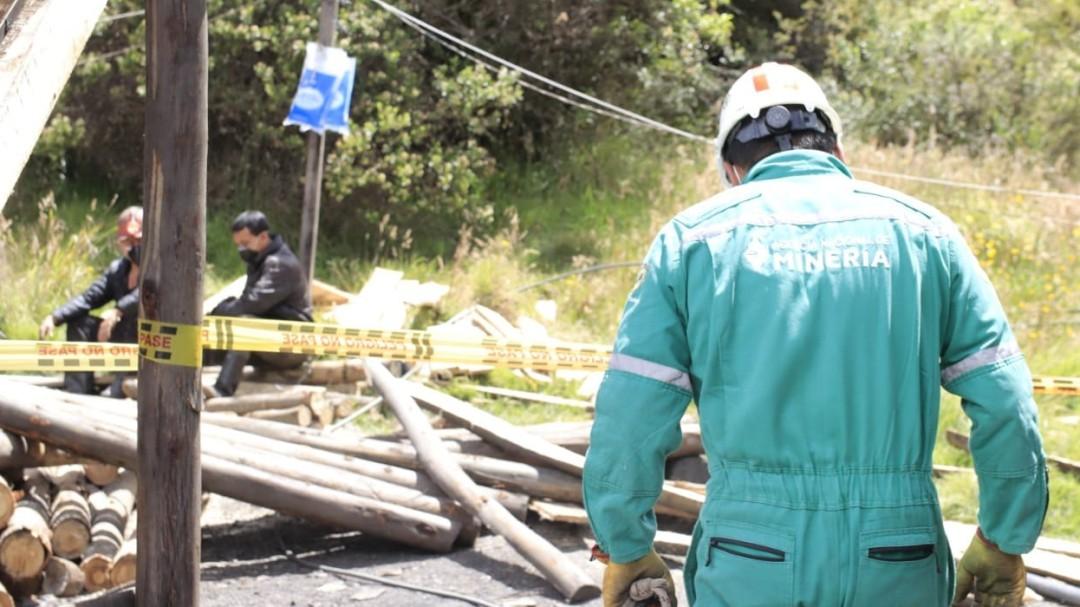 Dos mineros atrapados tras derrumbe de mina de carbón en Sativasur, Boyacá - Noticias de Colombia